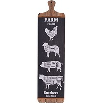 NIKKY HOME Farm Fresh Butchers Selection Vintage Decorative Farmhouse Wa... - $30.50