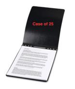 NEW Case of 25 ACCO Presstex Tyvek-Reinforced Top Binding Covers - $66.40