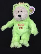 "Starbucks Coffee Bearista 10"" Plush Teddy Bear Kiss Me Frog Prince Valen... - $13.96"