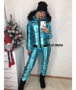 2 in 1 Jacket Pants Ski Suit Winter Tracksuit Sport Set Trousers Glanzny... - $149.00