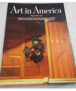 Art In America Back Issue Magazine October 1986 Futurism - $16.74