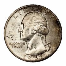 1942-S Argent Washington Quarts 25C (Choix Bu État) Complet Mint - $93.55