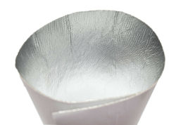 "Aluminum Fiberglass 12"" x 24"" Heat Shield Adhesive Backed Heat Barrier 2 Feet image 9"