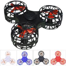 Tiny Toy Drone Flying Fidget Spinner Stress Relief Gift Flying Gyroscop Toy - $23.77 CAD