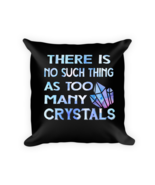 Crystals pillows - Square Pillow Case w/ stuffing - $23.00