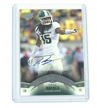 2015 Upper Deck Star Rookie NFL Football Autographed Card by Trae Waynes - $7.94