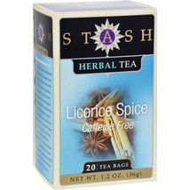 Stash Tea - Licorice Spice - 6 Units/20 bag - $31.18