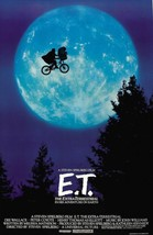 E.T. Movie Sheet Poster 24x36 inch Fast Shipping New ET Steven Spielberg - $10.89