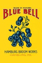Blue Bell Broom Label - Art Print - $19.99+