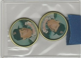1987 Topps Coins Roger Clemens Red Sox Lot of 2 - $1.35