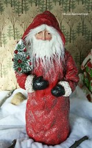 POTTERY BARN VINTAGE SANTA OBJECT -NIB- THE DISPLAY THAT KEEPS ON GIVING! - $149.95