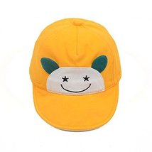 Visor Cap Baby Hat Sunscreen Breathable Baby Cuff Cotton Baseball Cap image 1