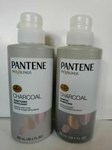 PANTENE Pro V Blends Shampoo & CONDITIONER Set CHARCOAL 10.1 Ounce  L91 - $19.83
