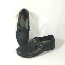 SAS Tripad Comfort Hook and Loop Mary Jane Flats Navy Blue Women's Size 9 - $26.25