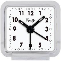 Equity by La Crosse Clear Quartz Alarm Clock  (21038) - $11.00