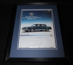 1984 Cadillac Fleetwood 11x14 Framed ORIGINAL Vintage Advertisement - $32.36