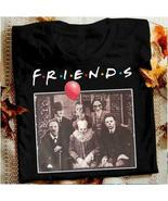 Horror Friends Pennywise Michael Myers Jason Voorhees Halloween Men T-Sh... - $24.98+