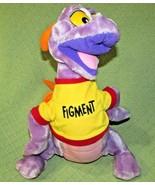 "18"" VINTAGE FIGMENT Disneyland Plush Stuffed DRAGON Purple Orange Wings ... - $40.08"