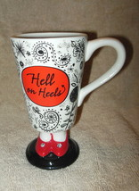 HALLMARK 'HELL ON HEELS'  RED SHOES COFFEE MUG OR CUP - $18.99