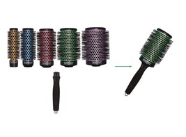 Olivia Garden Ceramic Ion 6pc Multi Thermal Brushes Deal: 5 Barrels & 1 Handle - $59.99