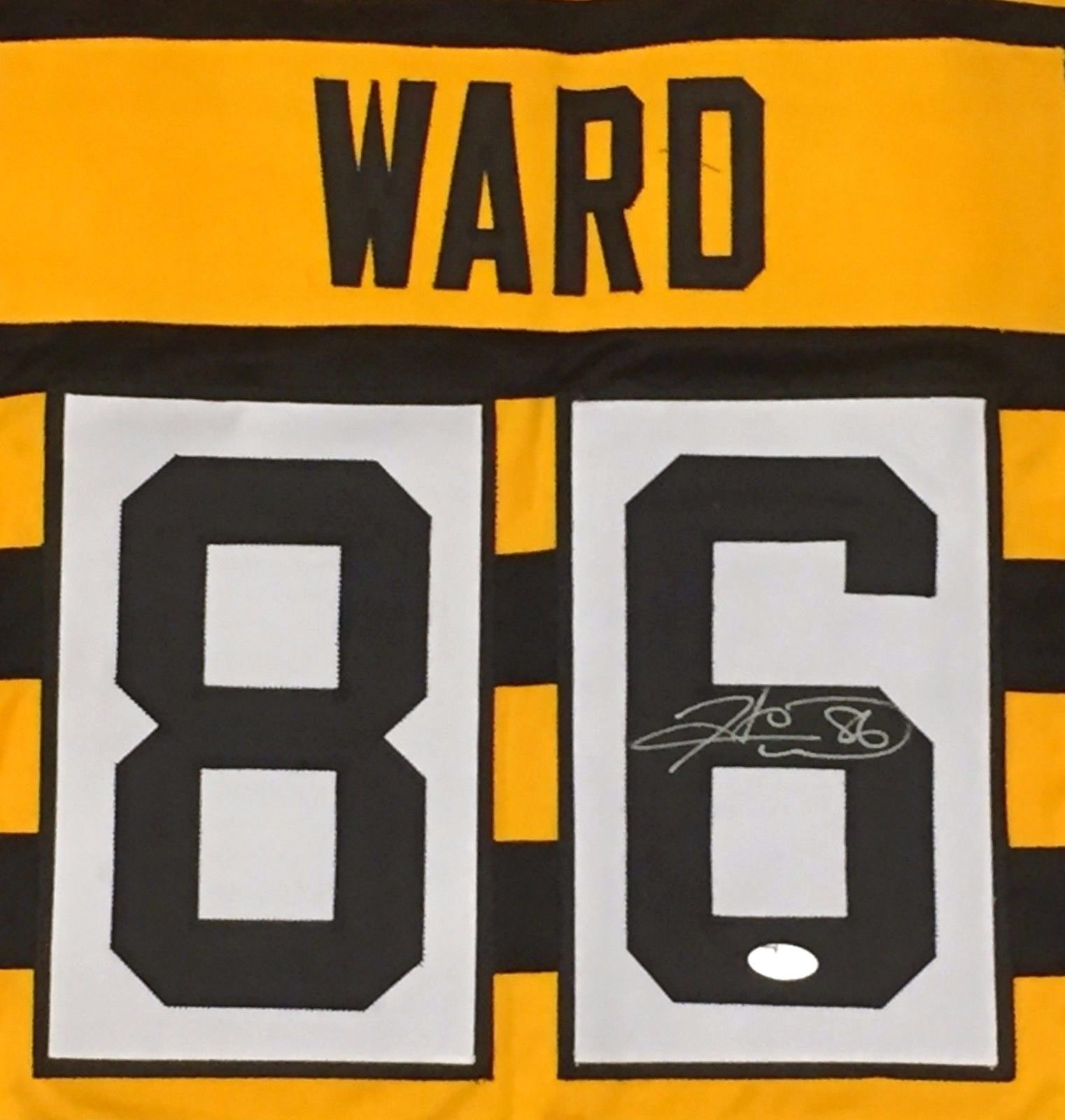 new styles d0d02 526f7 Hines Ward Autographed Steelers Bumblebee and 21 similar items