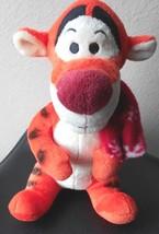 "Disney Plush Tigger with Scarf Winter 10"" Tall Stuffed Animal Toy - $7.49"