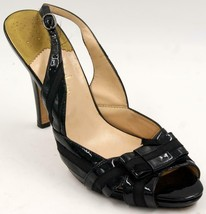 Cole Haan Air Black Leather Women's Heel Sandals Sz 10 M Shoes - $38.47