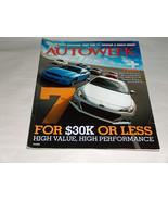 Autoweek Juin 2012 Voiture Camion Revue Audi A4 Mercedes G63 AMG GLK SCI... - $9.09