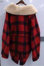 Vtg Filson Men Buffalo Plaid Wool Lined Shearling Jacket 50 Made USA Coat Packer image 4