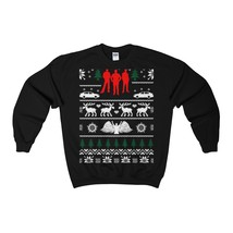 supernatural ugly christmas sweatshirt xmas - $29.95+