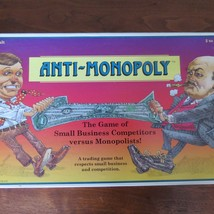 "Vintage! Anti-Monopoly The ""Bust-the-Trust!"" Game Talicore Anspach 1995.... - $9.90"