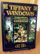 Vintage Tiffany Windows Alastair Duncan Simon and Schuster Hard Copy Coffee Tabl image 1