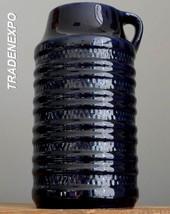 Vintage 60-70's CARSTENS Tönnieshof E.4-25 Blue Vase German Pottery Fat ... - $21.77