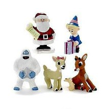 Rudolph The Red Nose Reindeer® Figurines, 5-Piece Box Set w - $34.99