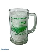Triumph Glass Mug 1992 Triumphest The Roadster Factory Central Coast Sol... - $19.99