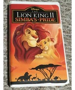The Lion King II: Simba's Pride (VHS, 1998, Clamshell)*Disney - $4.16
