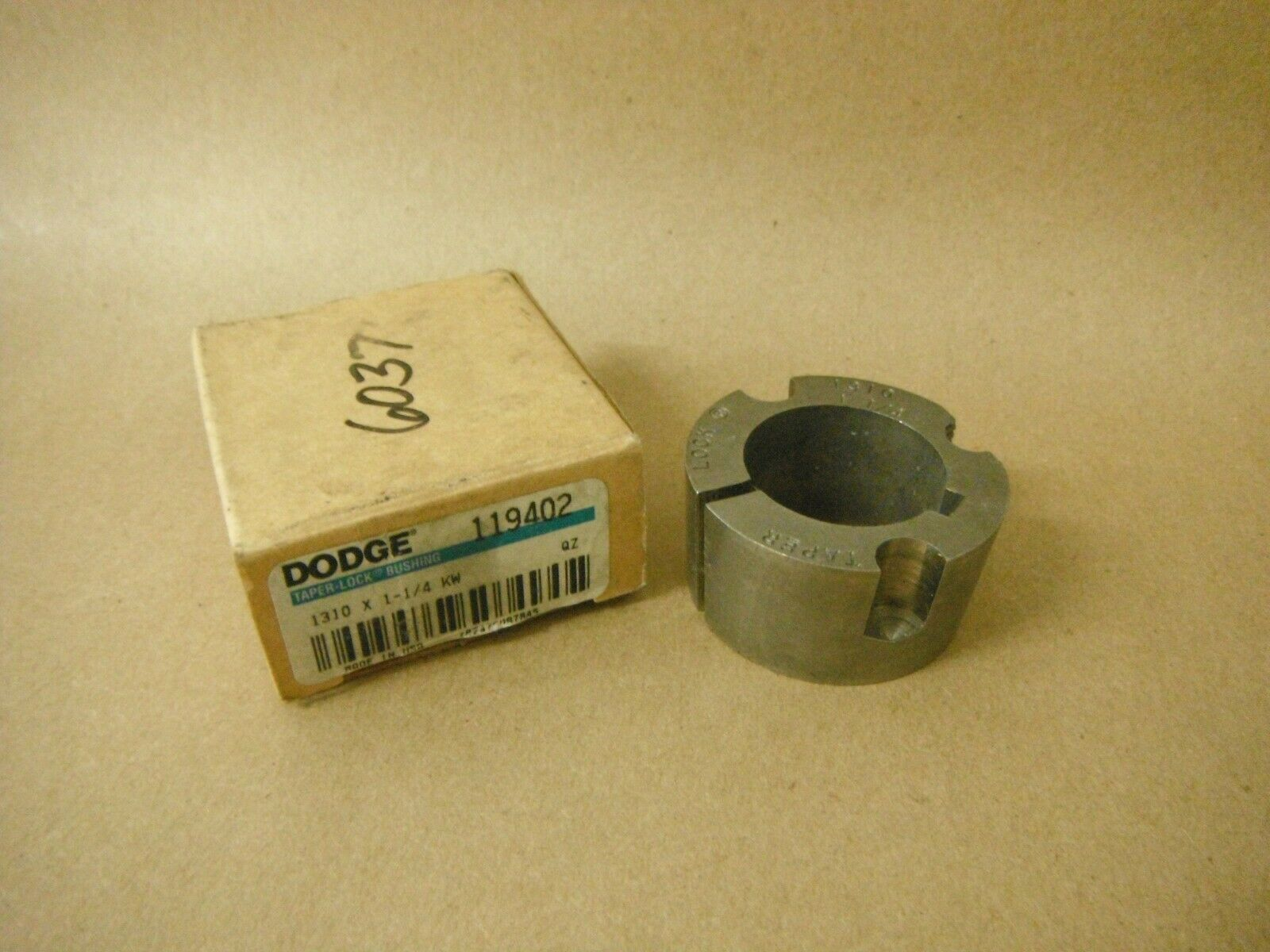 Primary image for 119402 DODGE 1310 X 1-1/4 KW TAPER LOCK BUSHING MISSING HARDWARE