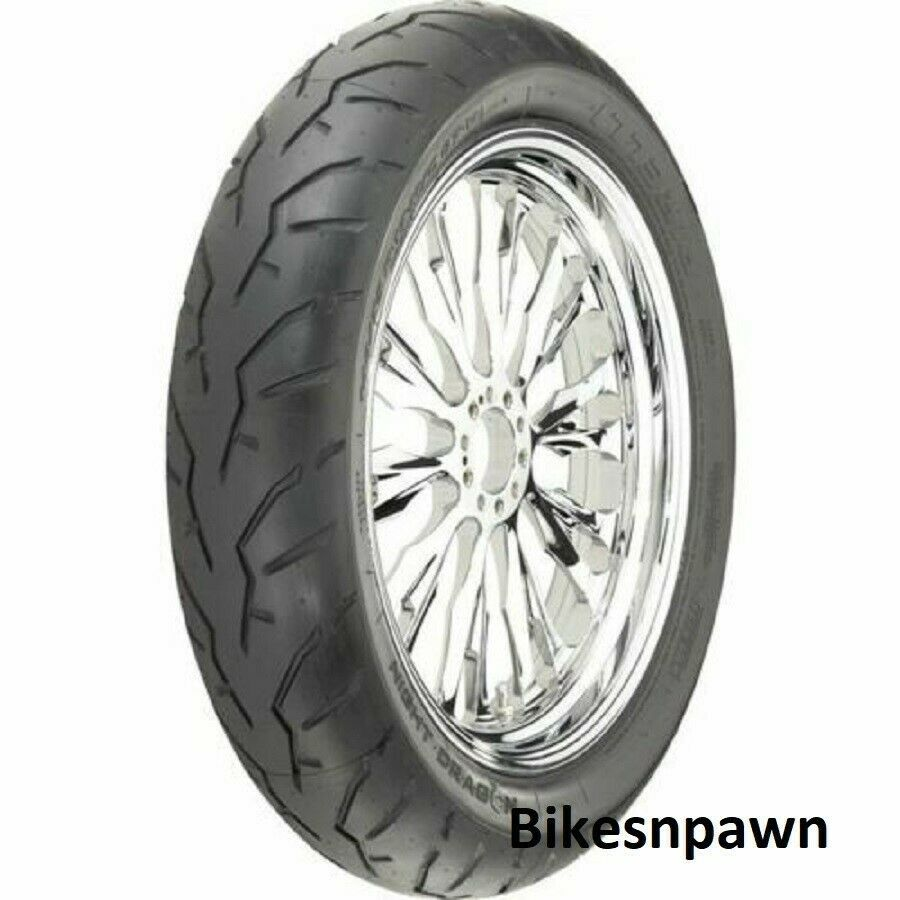 New Pirelli 130/60B-19 Night Dragon Performance Front Motorcycle Tire 61H