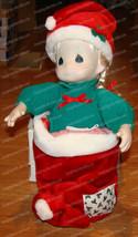 Precious Moments, NIKKI Stocking Doll (QVC H21160) 1995 - $28.22