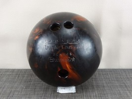 Brunswick Triple Crown JL6346 Brown Copper Swirl Bowling Ball 12 lbs - $37.57