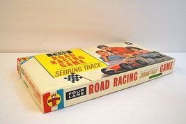 Transogram Rare Four Lane Road Racing Game on the Famous Sebring Track 1963  image 5
