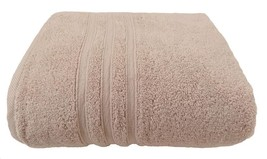 Hotel Hospitality Latte Zero Twist 100% Cotton 600 Gsm Bath Towel 70 X 120CM - $10.56