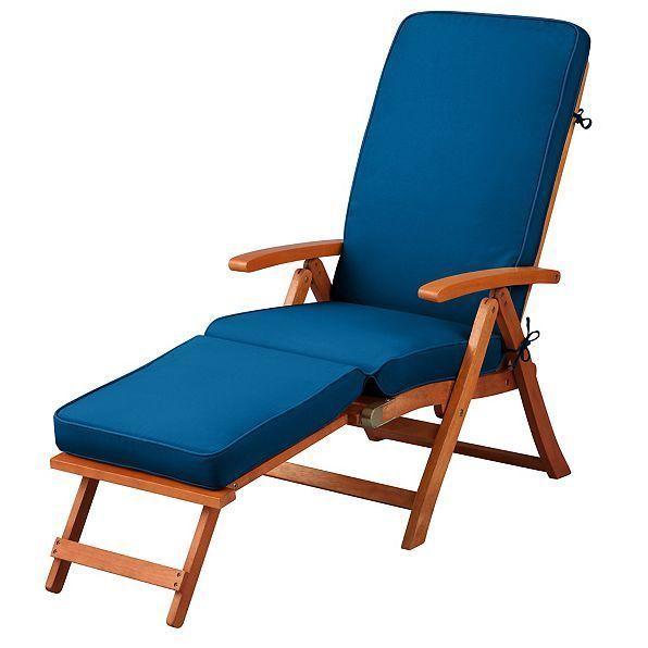 pacific blue patio outdoor steamer chair and 50 similar items