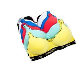 Coobie Intimates 5 Pack Multi Color Women's Sports Bra 6899