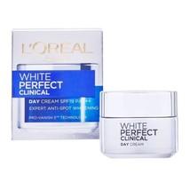 L'Oreal Paris White Perfect Clinical Skin Whitening Day Cream SPF 19 50ml - $26.99