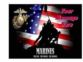 US Marines Edible Image Sheets Cake Toppers (Frosting Sheet) - $9.98