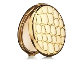 Estee Lauder Golden Alligator Compact w/ Lucidity Translucent Pressed Po... - $31.98