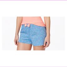 Jenni by Jennifer Moore Ruffle-Hem Boxer Shorts Sleep in Dream Script, XXL - $6.60