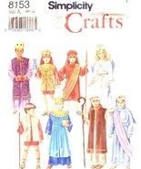SIMPLICITY Sewing Pattern 8153 NAVIVITY COSTUMES SEWING PATTERN (CHILDREN BOYS / - $9.80