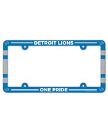Detroit Lions License Plate Frame Plastic Full Color Style [Free Shippin... - $14.90